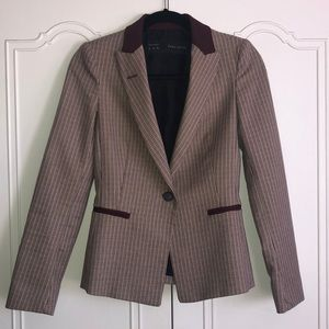 Beautiful checkered Zara blazer